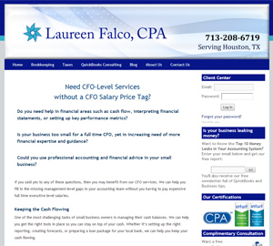 Laureen Falco, CPA, Accounting Website