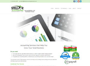 Stellar Accounting Solutions LLC by Accelerator Website