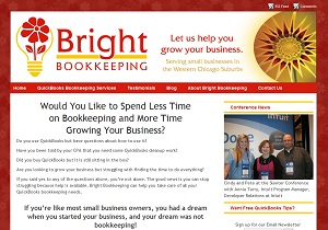 Bright Bookkeeping, Accounting Website
