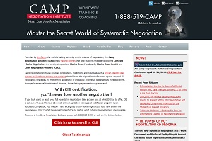 Camp Negotiation Institute