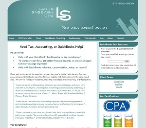Laura Sabbagh, CPA, Accounting Website