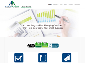 AxeCess Advisors, Accounting Website