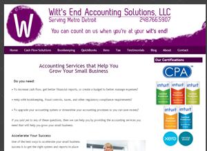 Loretta E. Simmons, CPA, PC, Accounting Website