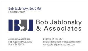 Bob Jablonksy Card