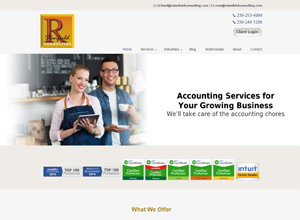 R. Stanfield Consulting Website Screenshot