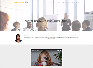 Speaking Center Stage by Accelerator Websites