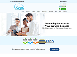 Keen Bookkeeping by Accelerator Websites