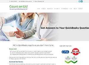 Count on us! Accounting and Bookkeeping by Accelerator Websites