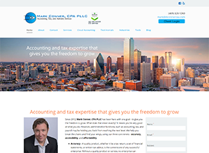 Mark Conner, CPA PLLC by Accelerator Websites