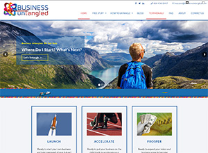 Business Untangled, Accounting Website