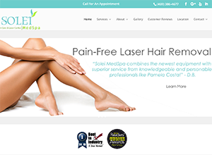 Solei MedSpa by Accelerator Websites