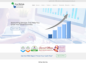 Fran McCully Bookkeeping and Consulting by Accelerator Websites