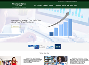 Mountain Home CPA, LLC by Accelerator Websites