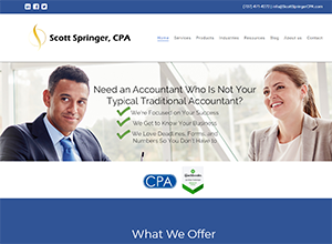 Scott Springer, CPA PLLC by Accelerator Websites