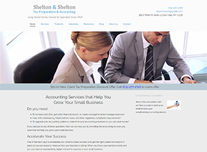 Shelton & Shelton Tax & Accounting by Accelerator Websites