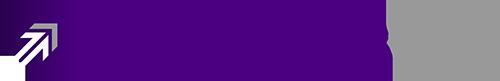 Purple up arrow Smith and Jones Logo Sample