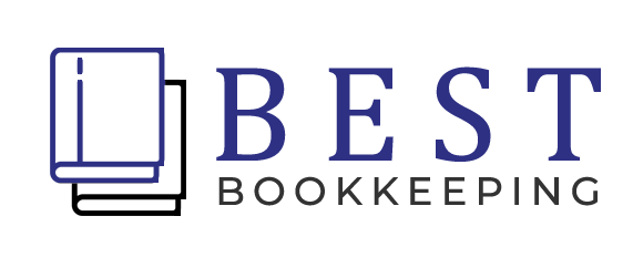 Two books Best  Bookkeeping Logo Sample