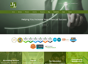 JL Bookkeeping LLC by Accelerator Websites