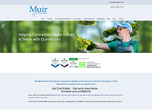Muir & Associates Website Screenshot