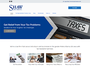 Shaw Law Tax by Accelerator Websites