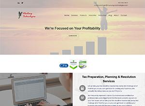 Mustang Technologies Website Screenshot