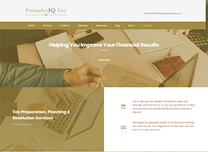 PronalytIQ Inc by Accelerator Websites