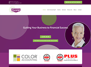 Online Business Concierge Website Screenshot