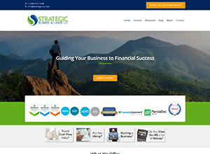 Strategic Business Alliance LLC Website Screenshot