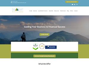 Summit Bookkeeping Website Screenshot