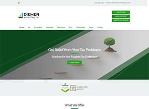 Diemer Accounting Inc. by Accelerator Websites