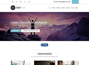 Matluc Services LLC Website Screenshot