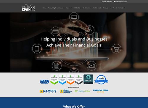 Jennifer A. Capezzuto, CPA Website Screenshot