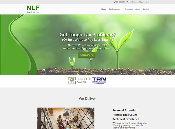 AB FinWright LLP Website Screenshot