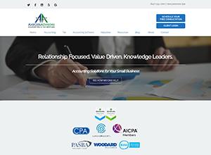 AxeCess Advisors Website Screenshot