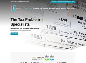 HofflerSmith Financial Services Website Screenshot