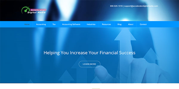 Screenshot of Spanish Bookkeeper websites